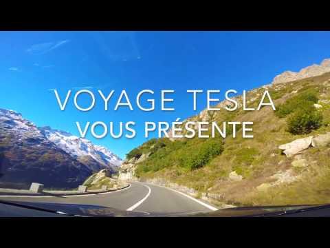 """Les Alpes et la Côte d'Azur avec """"Voyage Tesla"""" (with english subtitles)"""