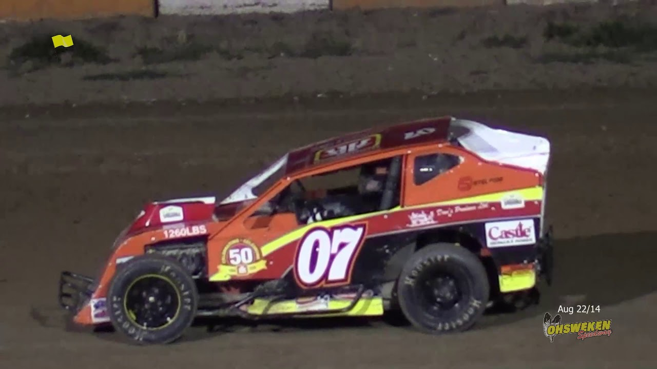 Aug 22/14 Tulsa Mod Lite Races The BIG O FLASHBACK
