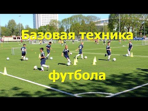 Футбол базовая техника