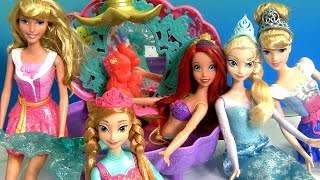 Mermaid Ariel's Flower Showers Bathtub Color Changers ❤ Magical Water Princess Cinderella Anna Elsa