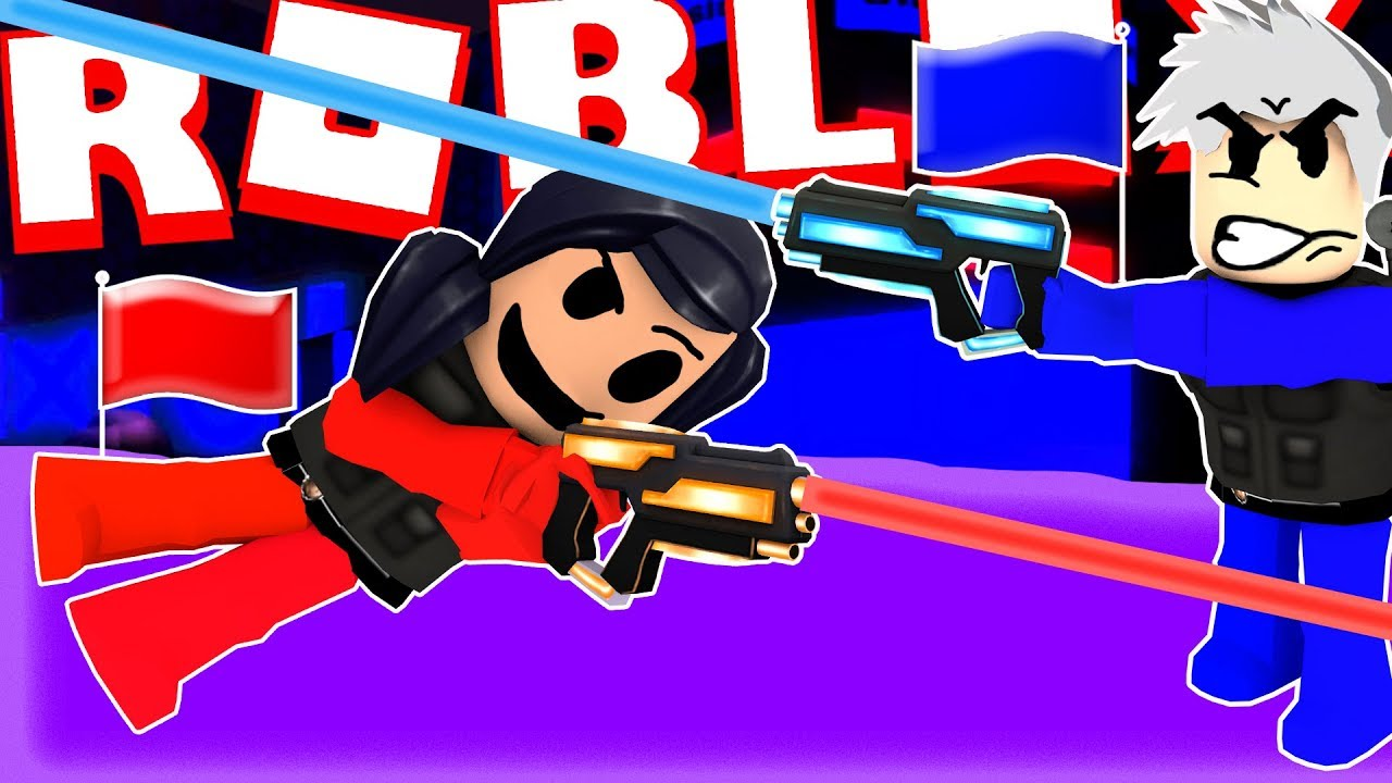 Extreme LASER TAG CAPTURE THE FLAG With YOU GUYS!! (Roblox Game)