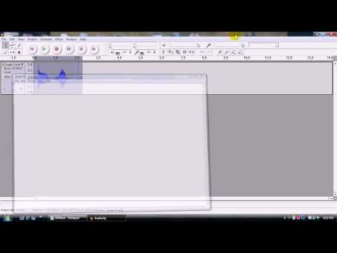Audacity Tutorial - How to make your voice/songs sound like The Chipmunks!!!!
