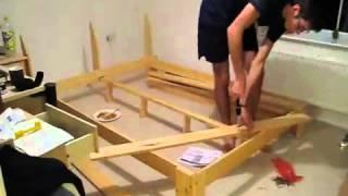 اصنع سرير لغرفة النوم بنفسك
