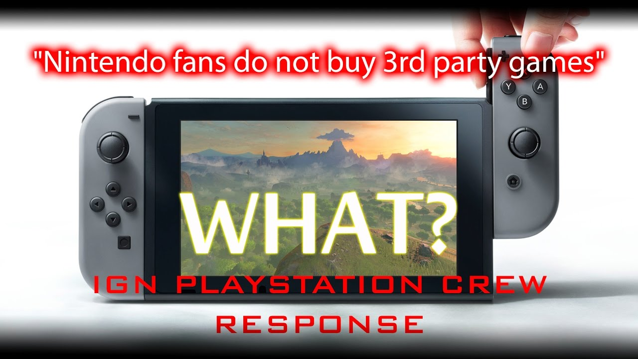 Nintendo Fans Don't Buy 3rd Party Games