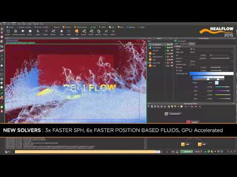 RealFlow 2015 Features: DYVERSO
