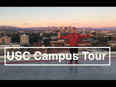 University of Southern California Rooftop Tour!