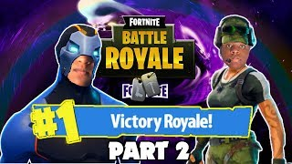 If I Get 2 Eliminations, My Brother Ows Me A Steam Game | FORTNITE BATTLE ROYALE Part 2