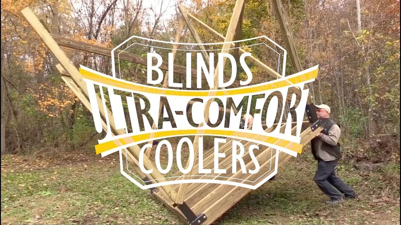 Ultra-Comfort Hunting Blinds – The Most Practical, Lightest