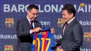 Rakuten, nuevo patrocinador principal global del FC Barcelona