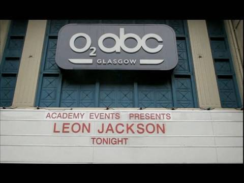 Leon Jackson - Behind the scenes at O2 ABC Glasgow