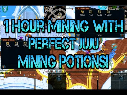 [RS] - 1 Hour Mining Con Gold With Perfect Juju Mining Potions!