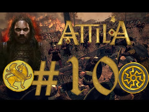 """Let's Play : Total War : Attila Co-op Campaign - Episode #10 """"R.I.P Big B"""""""