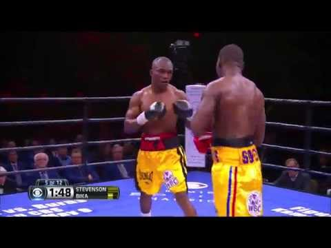 FULL FIGHT: Stevenson Vs Bika - Beterbiev Vs Campillo - CBS 4/4/15