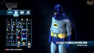Batman Arkham Knight - Bat Suits (Batman Skins) [1080p HD]