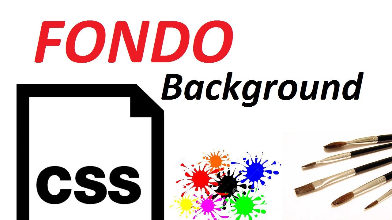 Usando o background image no css -  6 Fondo Background 1 2 Dise O Web Con Css