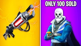 EVERY ITEM Ever REMOVED From Fortnite! (Secret Items, Rarest Skins)