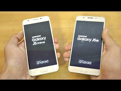 Samsung Galaxy J5 Prime vs J5 (2016) - Speed Test! (4K)