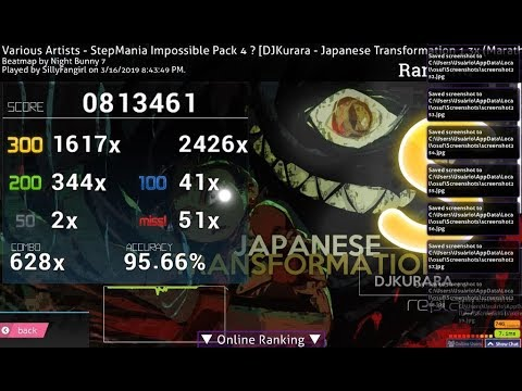 ONE OF MY BEST STAMINAMANIPULATION SCORE JAPANESE TRANSFORMATION 13X 9569% S