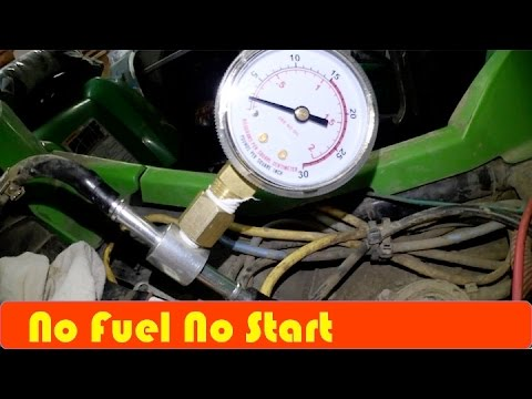 ATV How To Check fuel Pressure DIY