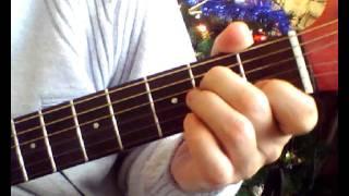 Уральские пельмени  Мандарин мне в рот  Аккорды Am(Уральские пельмени - 30 декабря или Мандарин мне в рот. Простые аккорды на гитаре в легкой тональности Am...., 2011-12-30T05:44:56.000Z)