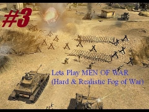 Lets Play Men of War- Hard (Realistic Fog of War) - 3