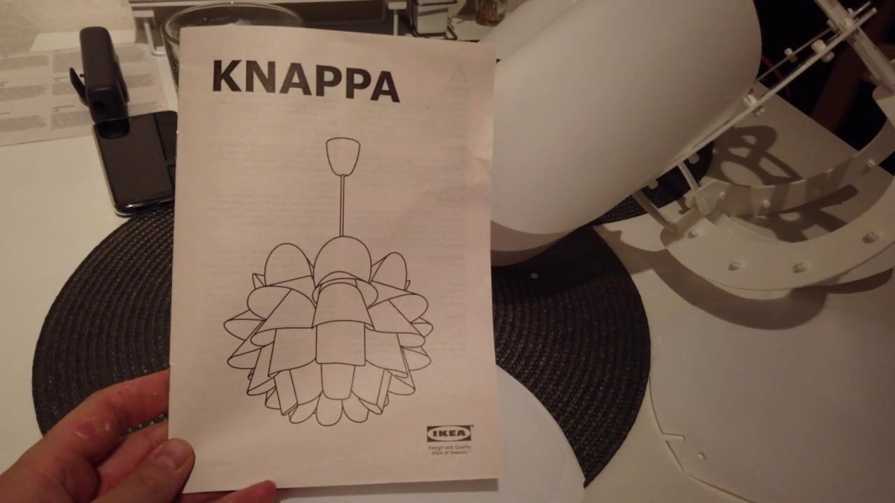 Ikea Knappa Lamp Instructions By Bookmarkedheart