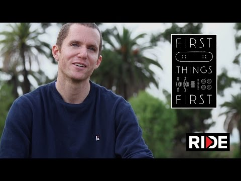 PJ Ladd's First Skateboard - First Things...
