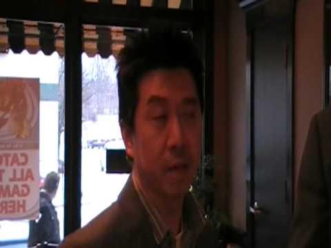MB talking with Bill Chu.MOD