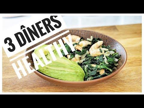 3-diners-lÉgers-et-rapides-|-repas-du-soir-healthy