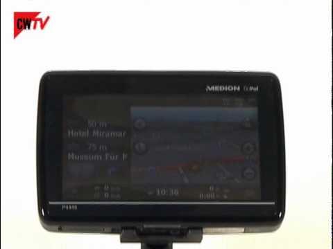 Navigationsgerät: Medion GoPal P4445