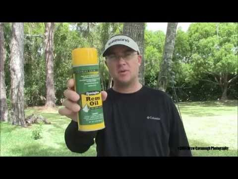 Rod Reel Tackle Care: Oiling & Lubrication