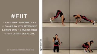 #FIIT | 4 Moves to Tighten Your Arms