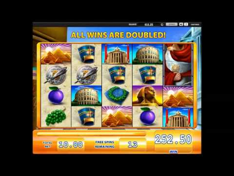 Rome and Egypt (Williams Interactive) online slot machine free spins