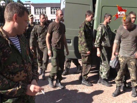 Украинские военные массово