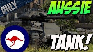 AUSTRALIAN TANK - AC IV THUNDERBOLT (War Thunder Tank Gameplay)