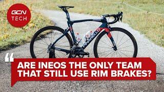 팀 Ineos는 여전히 림 브레이크를 사용하는 유일한 프로 사이클링 팀입니까? | GCN 테크 클리닉 #AskGCNTech