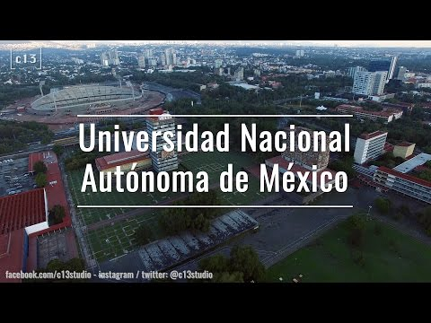 Flying over México in Drone | 16 - U.N.A.M. (1/2)