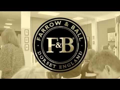 Презентация английских красок  Farrow & Ball в artemida design часть 01