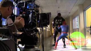 Behind the Scenes of The Amazing Spider-Man