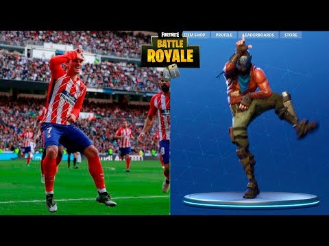 Las Mejores Celebraciones De FORTNITE En El Fútbol●HD||Fortnite Celebrations In Football 2018