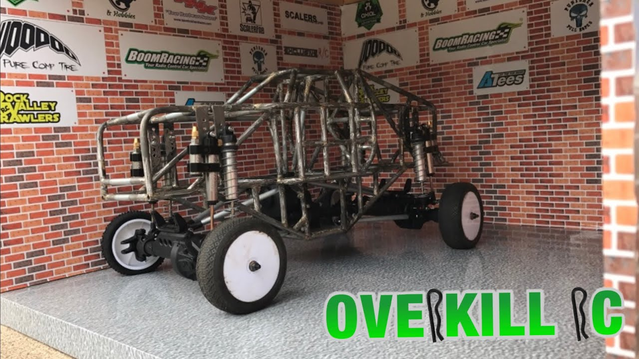 MINI-D PROJECT | PT 3 | Transmission | Custom Monster Truck Tube Chassis  Build | Overkill RC
