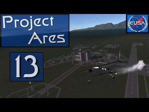 """A13 """"Galileo"""" - Project Ares - Real Solar System - KSP 1.2.1"""