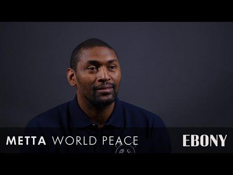 Metta World Peace Talks 'Quiet Storm: The Ron Artest Story' Documentary