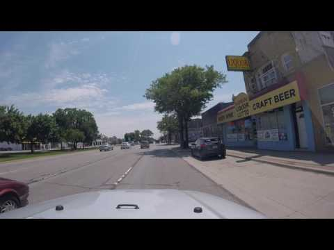 Driving around Detroit and the surrounding suburbs