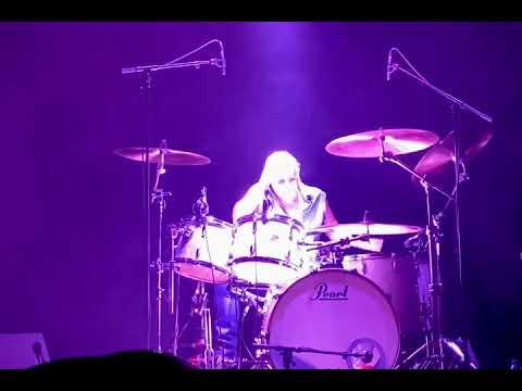 Ian Paice, drum solo, Stockholm 2020-01-30