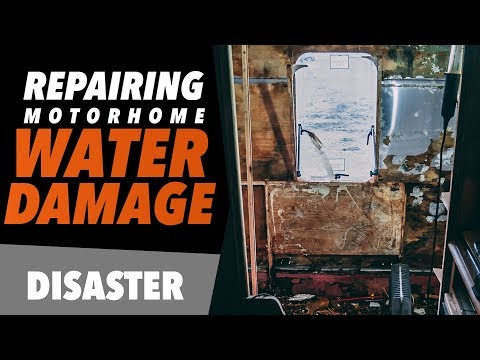 How to REPAIR MAJOR motorhome WATER DAMAGE | STAGE 1 DECONSTRUCTION