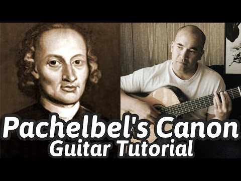 Pachelbel's Canon in D | Classical Guitar Tutorial | NBN Guitar