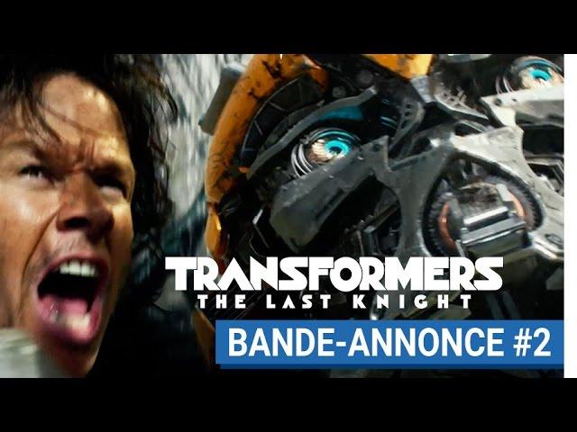 TRANSFORMERS : THE LAST KNIGHT - Bande-annonce #2 (VOST) [actuellement au cinéma]