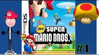 New Super Mario Bros DS #1 cogumelo gigante