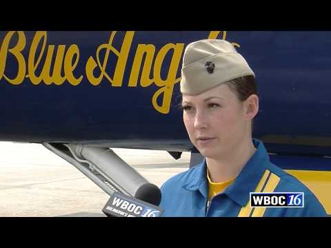Interview With Katie Higgins, First Blue Angels Pilot